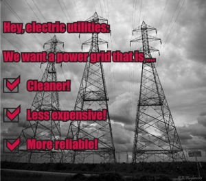 """""""Like"""" this on Facebook if you want a cleaner, less costly, and more reliable power grid. http://ow.ly/nAcLz"""