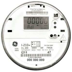 ComEd smart meter.