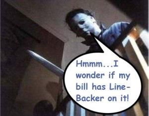Michael Myers phone bill