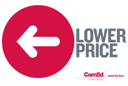 ComEd lower price sticker