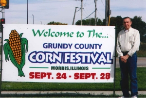 Marchene F. from Morris, IL had great things to say about the Grundy County Fair, which includes fireworks, a parade, contests, and  art shows!