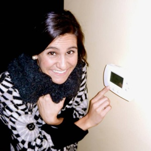 Samantha ponders the question: At what temperature should I set the thermostat this winter?