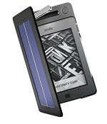 Solar Lighted Cover for Kindle Touch
