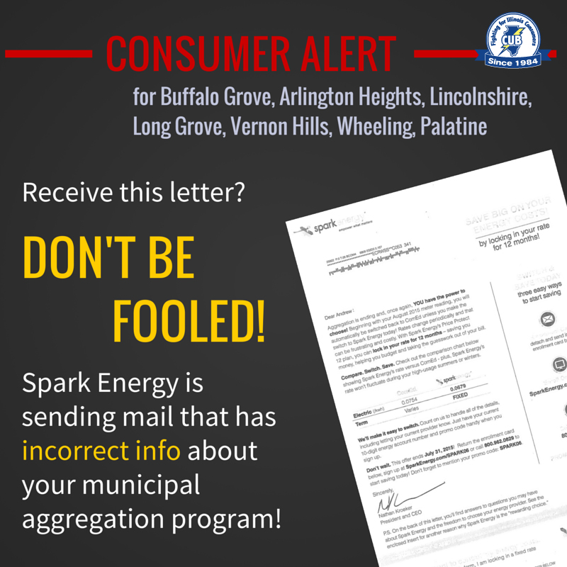 Big Mistake Spark Energy Sends Erroneous Letters To